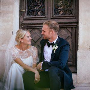Jullie bruiloft in Frankrijk